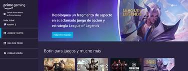 Prime Gaming o Twitch Prime: qué es, qué ventajas ofrece y cómo conseguir juegos y recompensas gratis