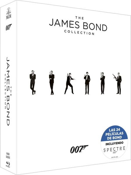 Colección completa James Bond en Blu-ray por 73,49 euros