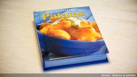 Libro de recetas sabrosas con patatas