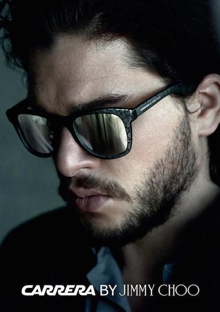 Las miradas masculinas se visten con gafas de sol de Carrera by Jimmy Choo