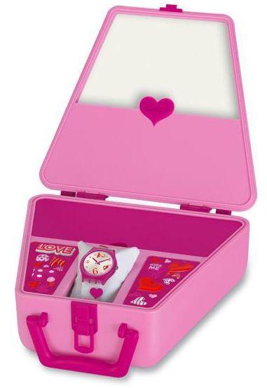 San Valentín: Divertido y romántico reloj Swatch
