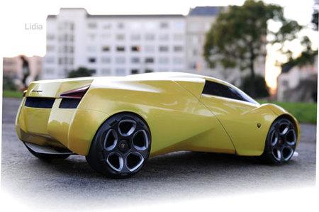 Lamborghini Lidia by Luis Camino