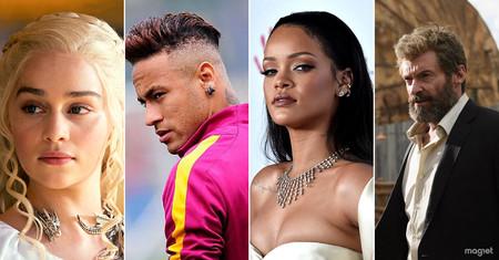 Daenerys, Neymar, Rihanna, Logan: así está moldeando la cultura pop los nombres de pila de una generación
