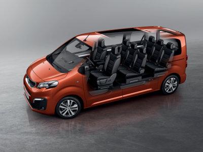 Tres tamaños a elegir para el Peugeot Traveller
