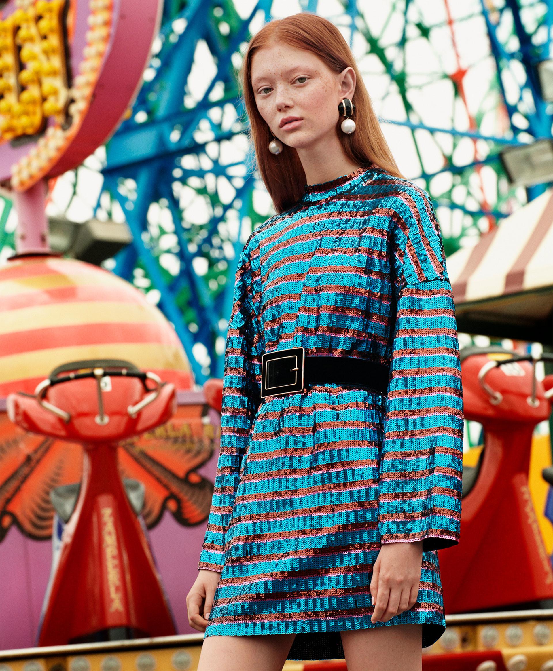 Zara TRF 'Fun Park' lookbook
