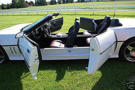 El Chevrolet Corvette para toda la familia: cuatro puertas, cuatro plazas