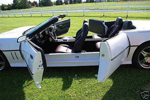 el chevrolet corvette para toda la familia cuatro puertas