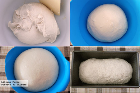 Receta de pan de molde con buttermilk o suero de leche. Pasos
