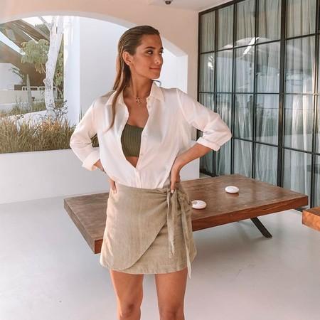 La falda pantalón es la nueva falda midi y estos nueve diseños nos han conquistado por su estética, comodidad y versatilidad