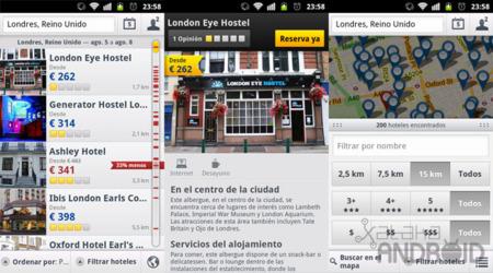 Expedia Hotels para Android