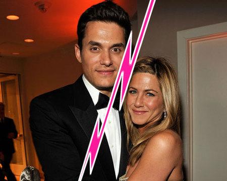 Jennifer Aniston y John Mayer rompen... ¡otra vez!