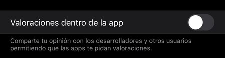 Valoraciones App Store