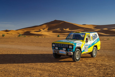 Nissan Patrol Fanta Limon 211 Dakar 1987