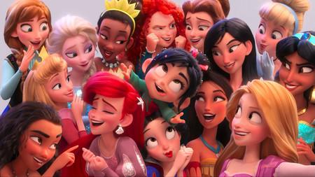 Vanellope Disney Princess Ralph Breaks The Internet Wreck It Ralph 2 Movie 2018