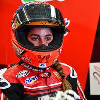 María Herrera volverá al mundial en el GP de Australia como sustituta de Albert Arenas