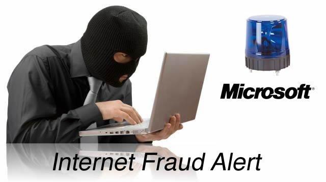 Internet Fraud Alert