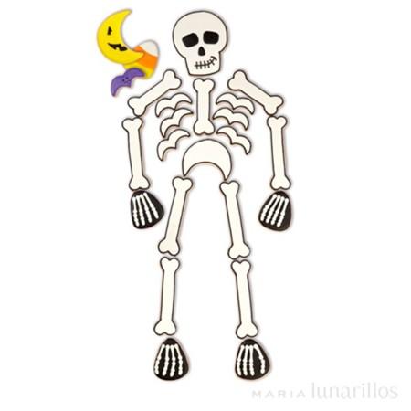Set Cortadores Esqueleto