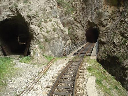 Tren de montaña, Grecia