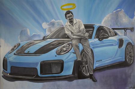 René Mäkelä cuadro de Butzi Porsche