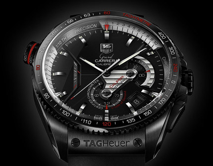 BaselWorld 2008: TAG Heuer Grand Carrera Calibre 36 RS Caliper Concept Chronograph