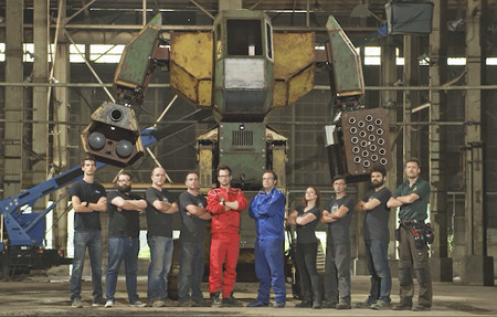 EEUU vs Japón ¡Fight! La primera batalla entre robots gigantes está lista y así podrás verla