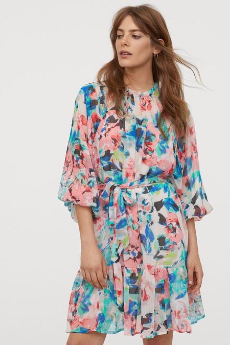 Vestidos De Flores De H M 10