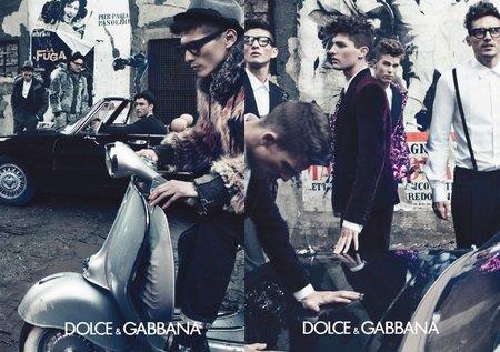 dolce y gabbana o/i 2011 2012