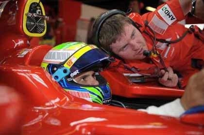 Felipe Massa, a imponer su ley en Turquía