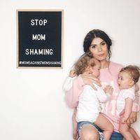 Una madre inicia un movimiento para acabar con las críticas hacia otras madres por su forma de criar