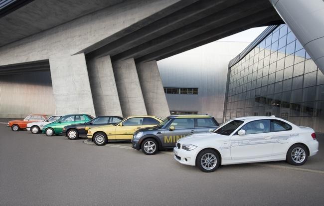 BMW eléctricos (40 años)