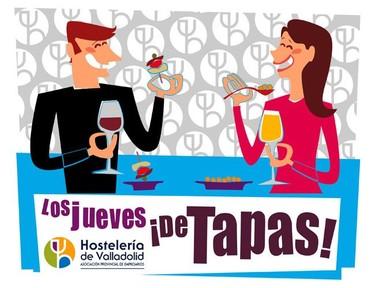 En Valladolid, los jueves de tapas