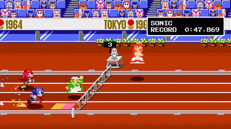Mario Sonic Juegos Olimpicos Tokio 2020