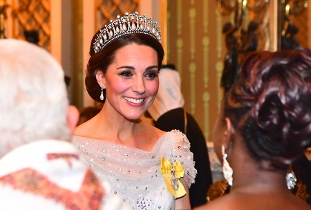 Kate Middleton luce la tiara de Lady Di y le sienta así de bien