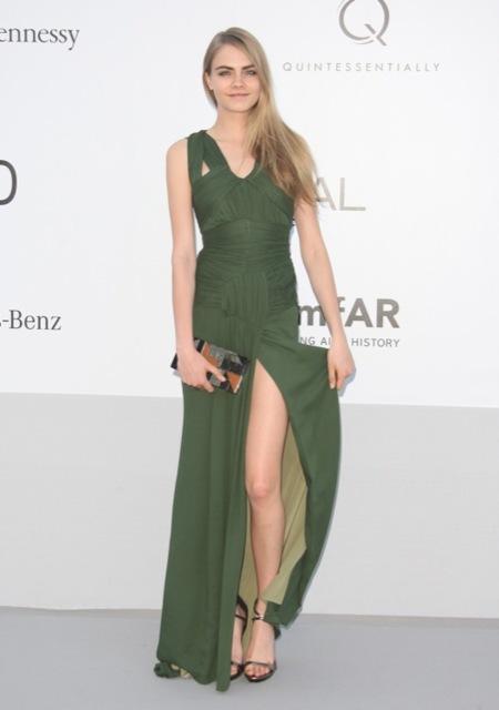 Cara Delevigne amFAR 2012 Cannes