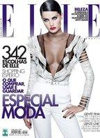 El sofisticado look de Isabeli Fontana en la portada de Elle Brasil para el mes de Marzo 2011