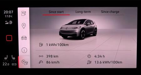 El Volkswagen ID.3 ha alcanzado 413 km de autonomía en una prueba real