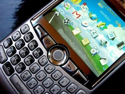 Blackberry Curve, primeras impresiones