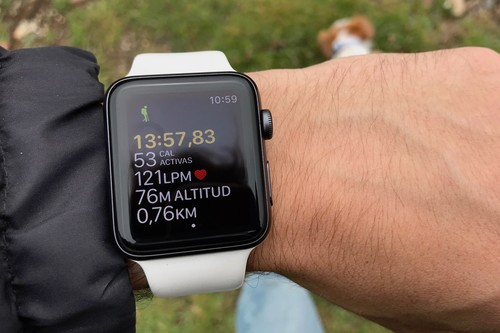 Senderismo por el Pirineo: así se comporta el Apple Watch Series 3 con watchOS 5