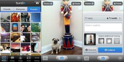 Burstn otra aplicación estilo Instagram para iOS