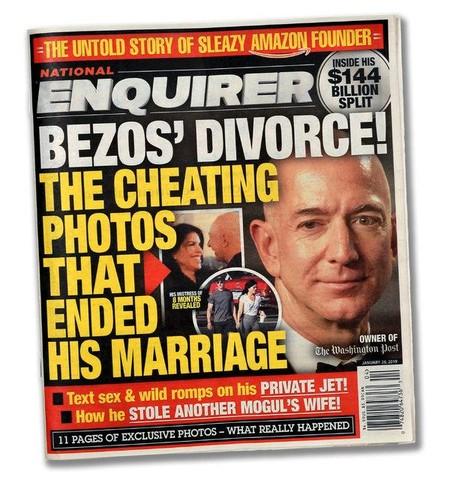 Bezos Enquirer