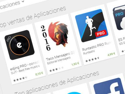 Prepara los favoritos: enlace secreto para ver las Aplicaciones Top de Google Play (sin juegos)