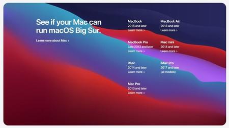 Mac Compatible Con Macos Big Sur
