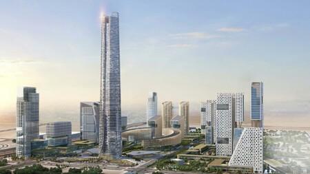 El edificio más alto de África completa sus 385 metros: así es el rascacielos insignia de la futura capital de Egipto