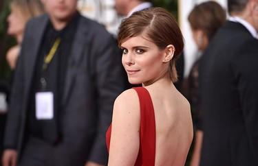 Kate Mara confía en el rojo para los Globos de Oro 2015, ¿y acierta?