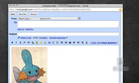 Gmail permite ahora arrastrar imágenes dentro del correo