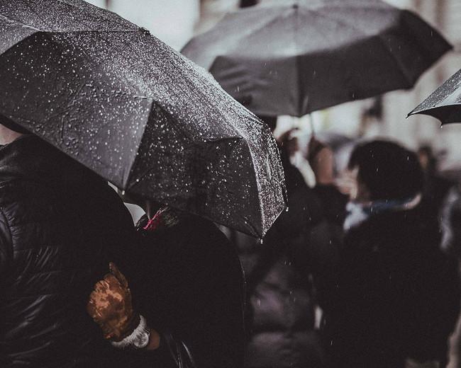 'London Rain' la lluvia en la City londinense vista a través del objetivo de Joshua Jackson