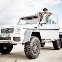 Lewis Hamilton amenaza con comprarse un Mercedes-AMG G 63 6x6