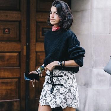 13 looks en los que Leandra Medine nos demuestra que su estilo es único y rompedor (y perdura en el tiempo)