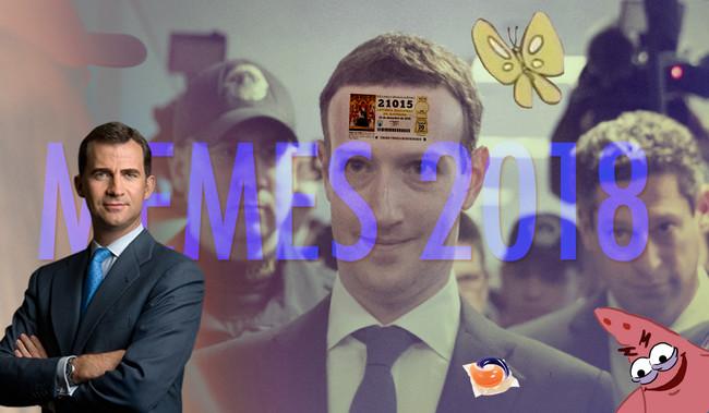 Patricio maligno, ZuckerBorg y Google Arts: los mejores memes de 2018