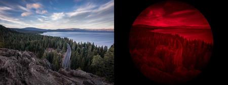 Cuatro fotos con una exposición de mil años revelarán los efectos del cambio climático en el Lago Tahoe en 3018
